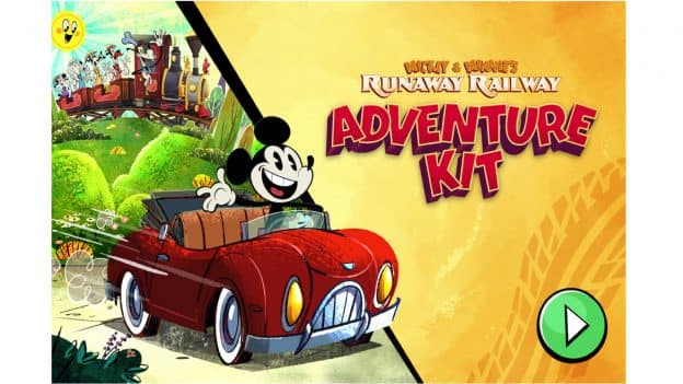 Mickey and Minnie's Runaway Railway Adventure Kit