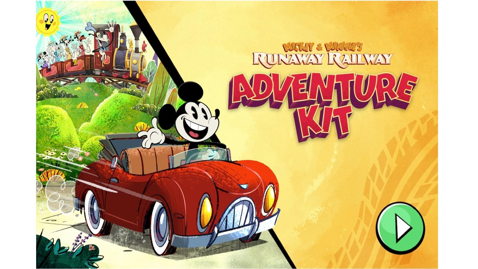 Mickey & Minnie's Runaway Railway: Adventure Kit - An All-New Game in DisneyNOW thumbnail