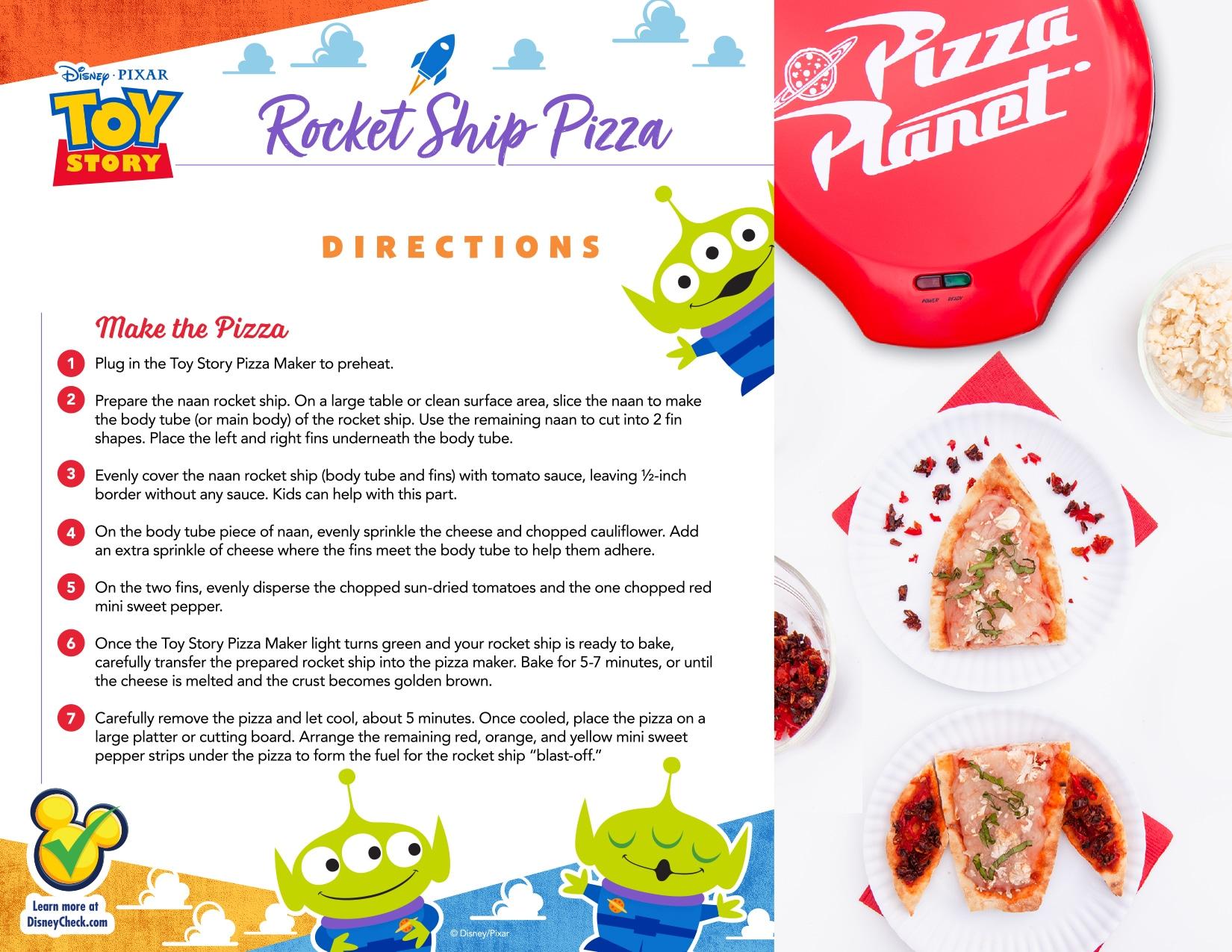 Rocket Ship Pizza