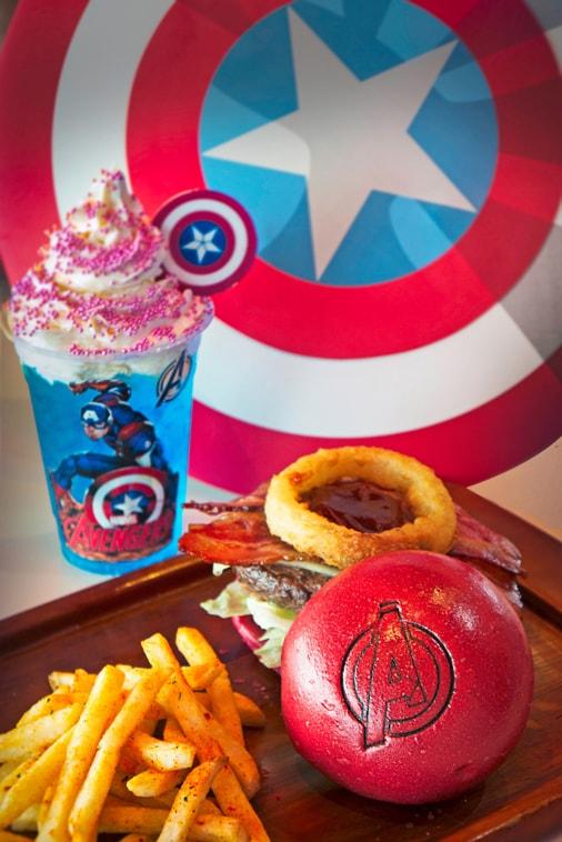 Avengers Burger