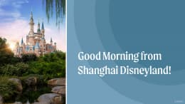 Sun Shines on Shanghai Disney Resort