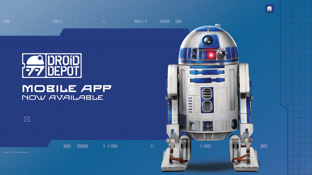 Star Wars RED Astromech Personality Chip Disney World Galaxy's Edge Droid Depot