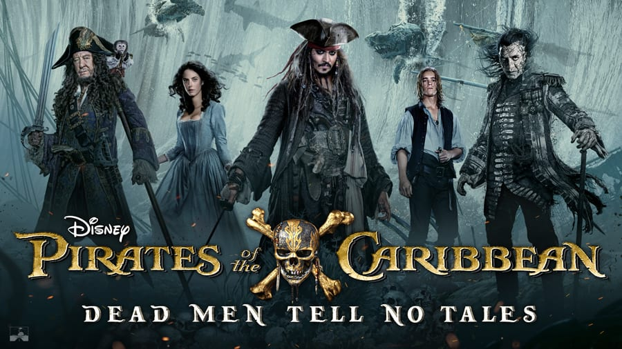 Disney Pirates of the Caribbean Dead Men Tell No Tales