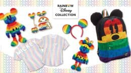 Rainbow Disney Collection Items