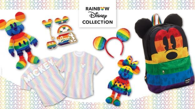Rainbow Disney Collection Items
