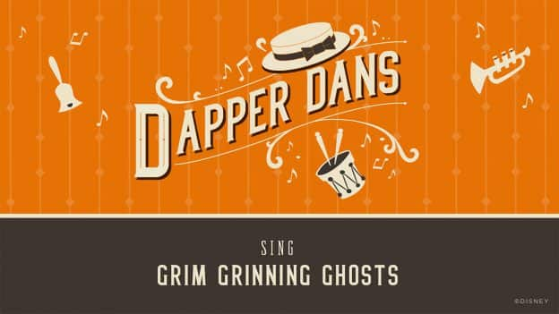 "#VoicesFromHome: Dapper Dans Sing ""Grim Grinning Ghosts"""