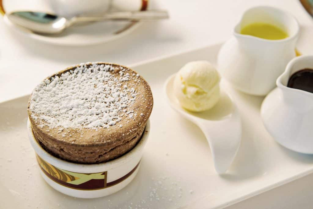 Chocolate Soufflé at Palo