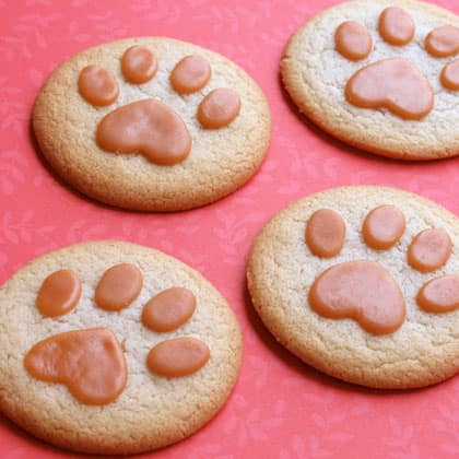 Lion Paw Print Cookies
