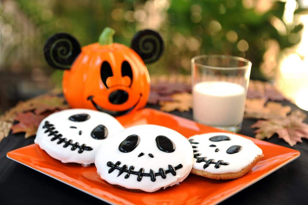 Halfway to Halloween Jack Skellington Sugar Cookies from Disney Parks