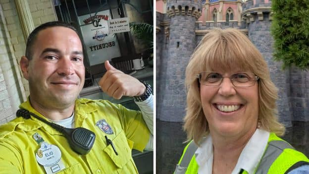 Elio and Tina, Security Teams at Disneyland and Walt Disney World Resorts