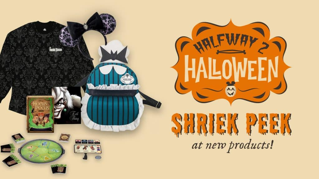 Halfway 2 Halloween Shriek Peek at new products