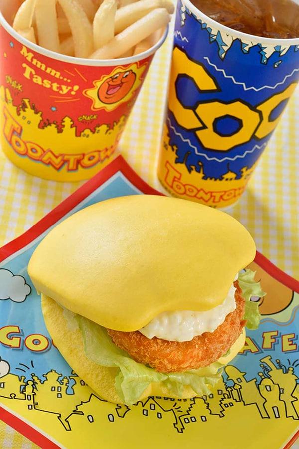 Donald's burger