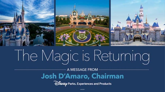 The Magic is Returning graphic