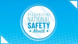 Recognizing National Safety Month