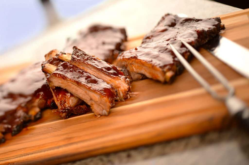 Guava Glazed Barbecue Ribs from Disney Cruise Line