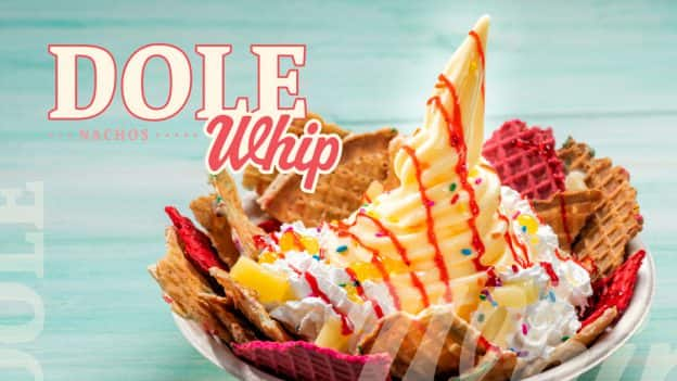 Dole Whip Nachos from Marketplace Snacks at Disney Springs