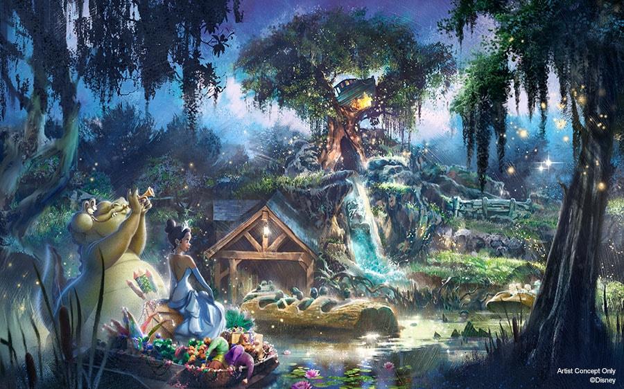 New Adventures With Princess Tiana Coming To Disneyland Park And Magic Kingdom Park Disney Parks Blog