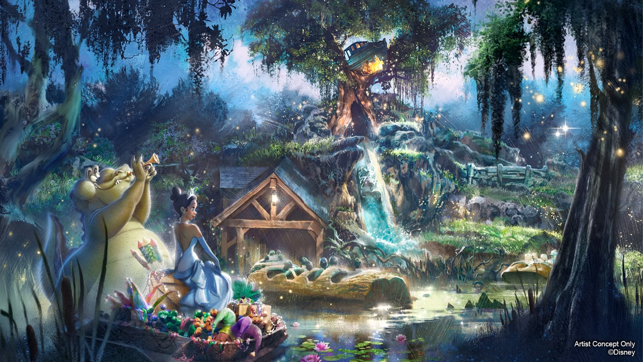 New Adventures With Princess Tiana Coming To Disneyland Park And