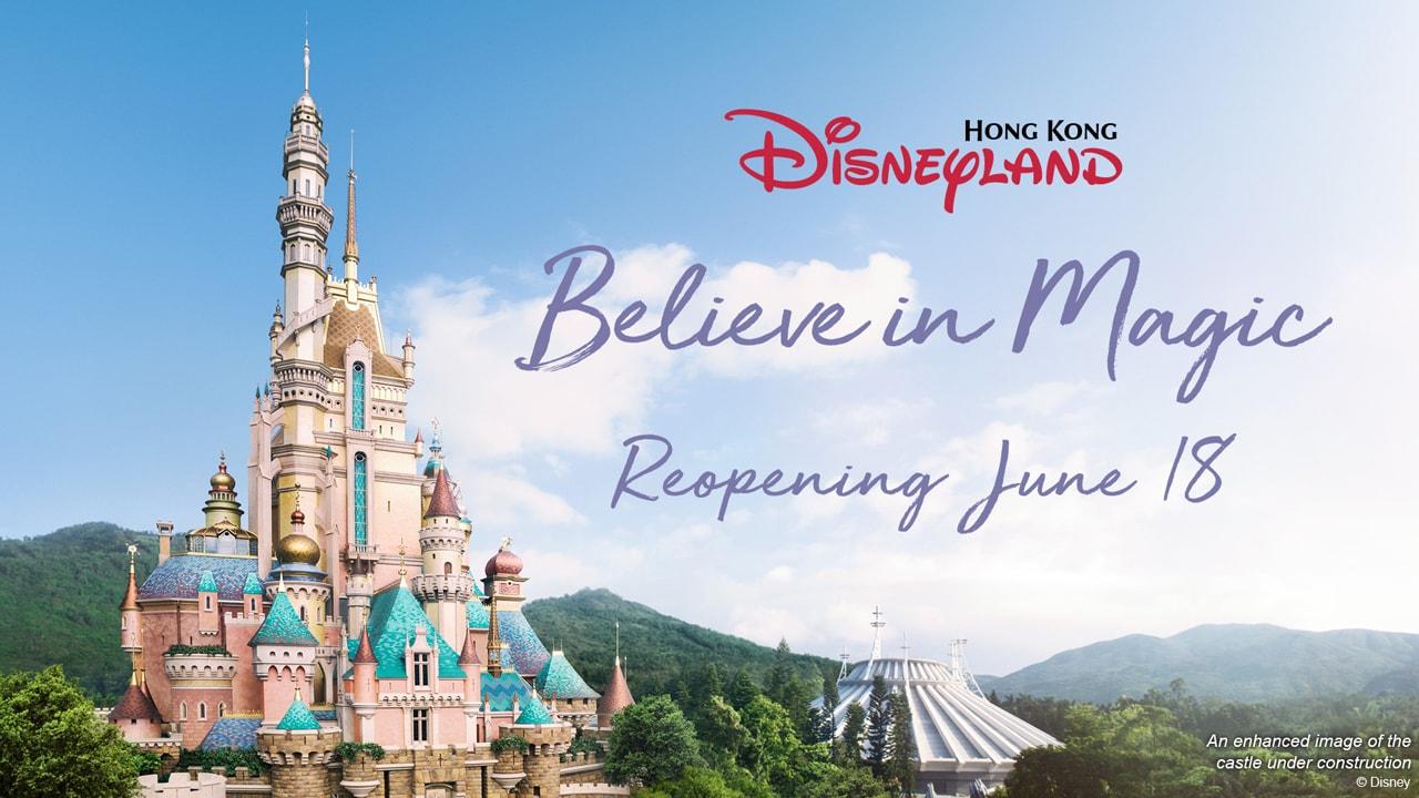 Believe in Magic as Hong Kong Disneyland Announces Reopening on June 18 thumbnail