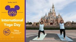 International Yoga Day - Shanghai Disneyland Ambassadors, photo taken at International Yoga Day 2019