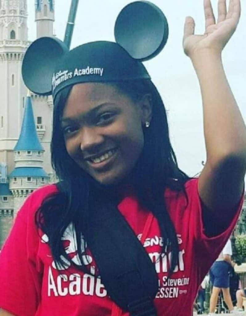 Disney Dreamers Academy alumni Kaylin Garnett of Augusta, Georgia