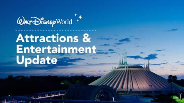 Attractions and Entertainment Details for Phased Reopening of Walt Disney World