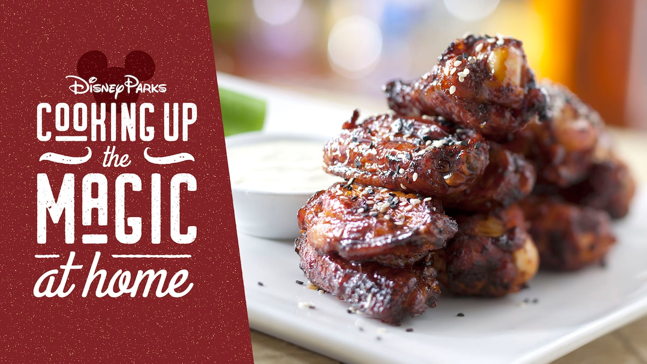 #DisneyMagicMoments: Cooking Up the Magic — Celebrate Dad with Honey-Coriander Chicken Wings from 'Ohana at Disney's Polynesian Village Resort