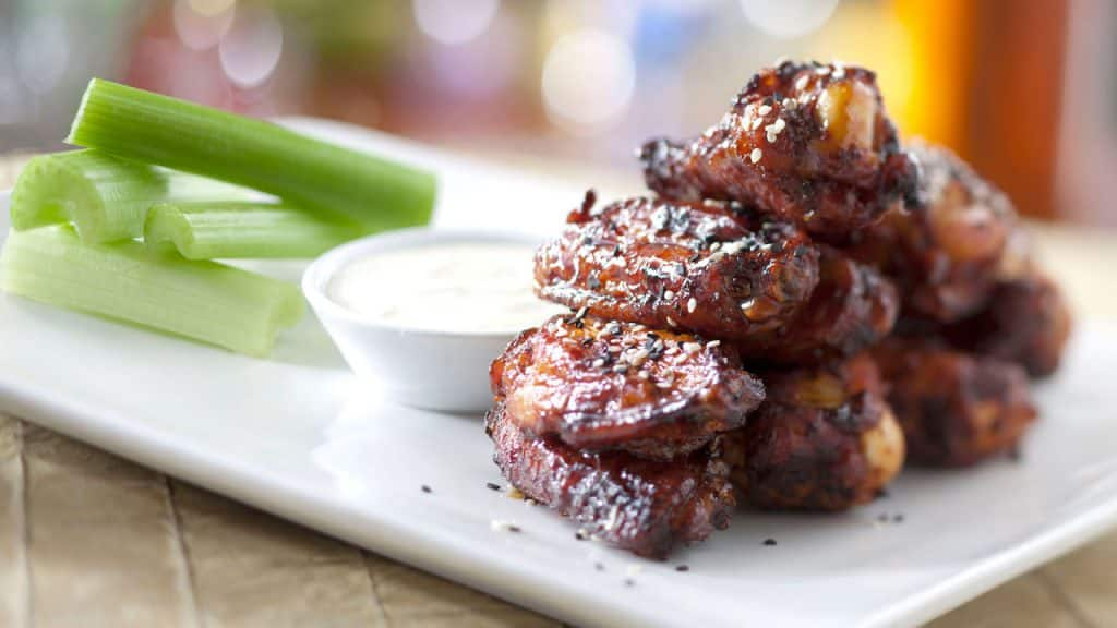 Honey-Coriander Chicken Wings from 'Ohana at Disney's Polynesian Village Resort