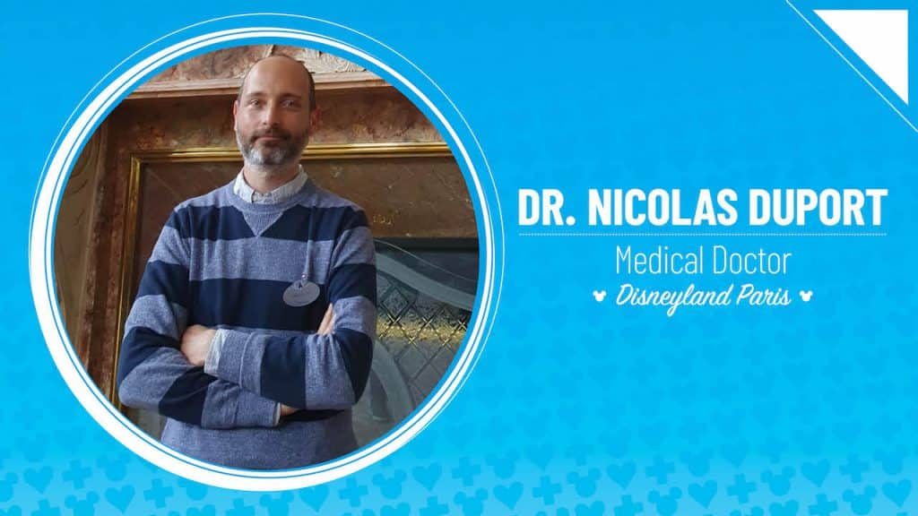 Dr. Nicolas Duport – Medical Doctor, Disneyland Paris