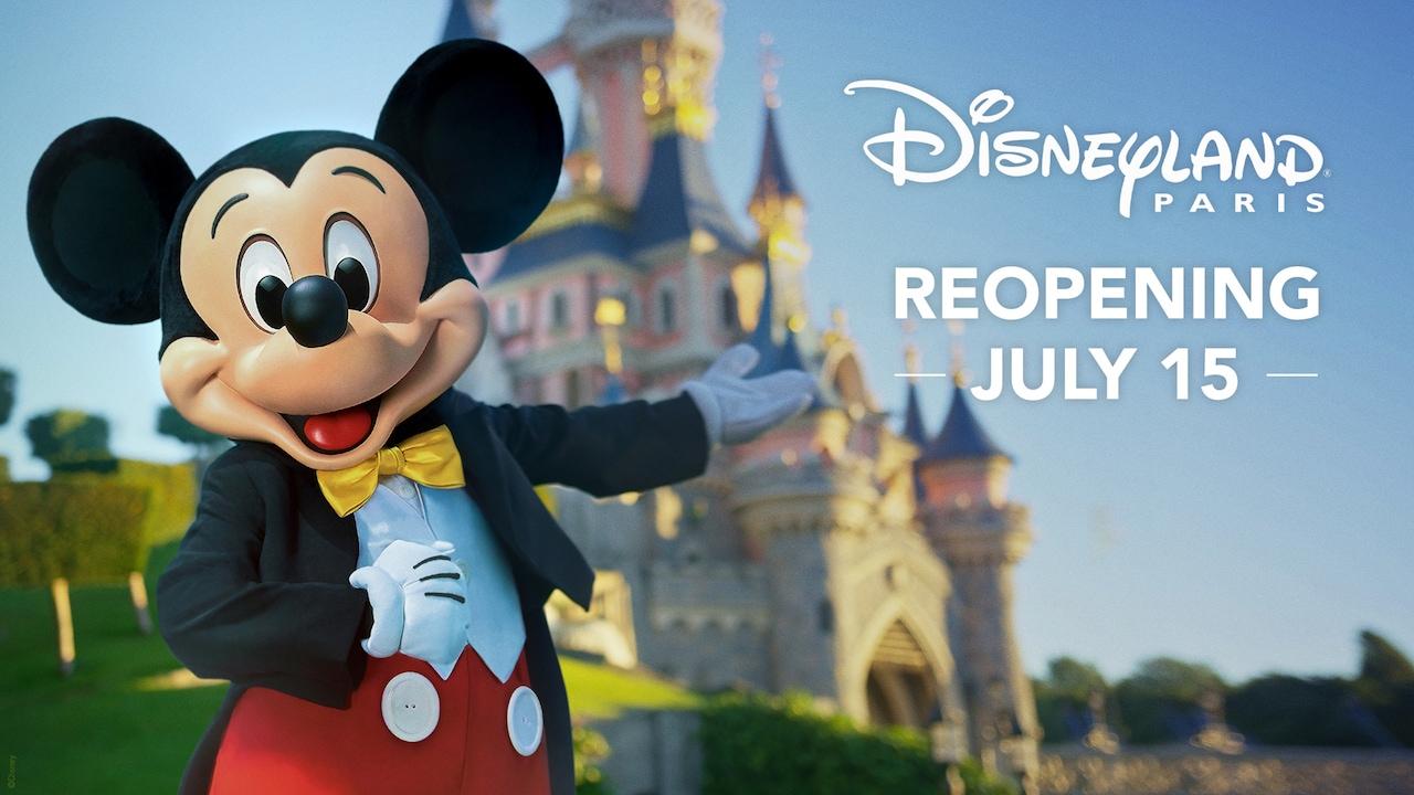 Disneyland Paris Reopening 2020