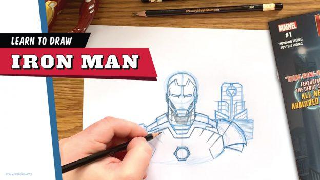 Learn to Draw Iron Man