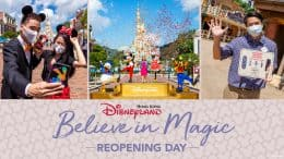 Reopening day for Hong Kong Disneyland