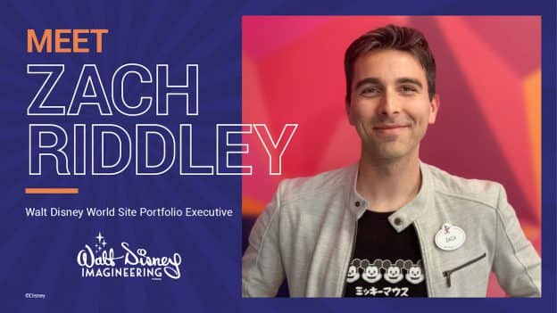 Disney Imagineering's Zach Riddley