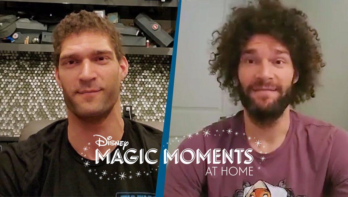 #DisneyMagicMoments: NBA Stars Brook and Robin Lopez Share
