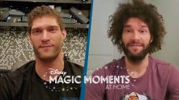 #DisneyMagicMoments: NBA Stars Brook and Robin Lopez Share