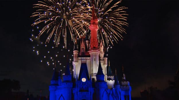 World Fourth of July Fireworks at Walt Disney World Resort