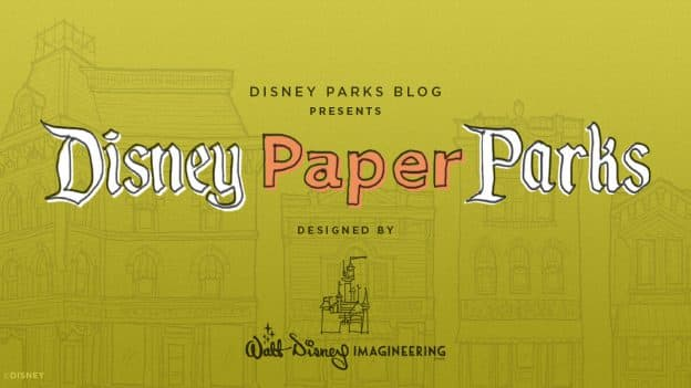 Disney Paper Parks graphic
