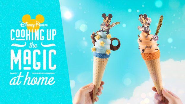 #DisneyMagic Moments: Cooking Up the Magic – A Sundae Celebration for Ice Cream Day!