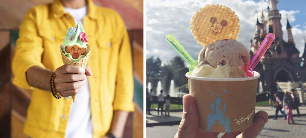 Ice Cream Treats from Disneyland Paris