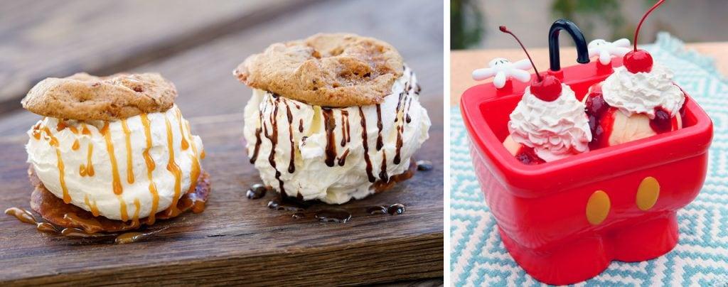 Ice Cream Treats from Disneyland Park at Disneyland Resort