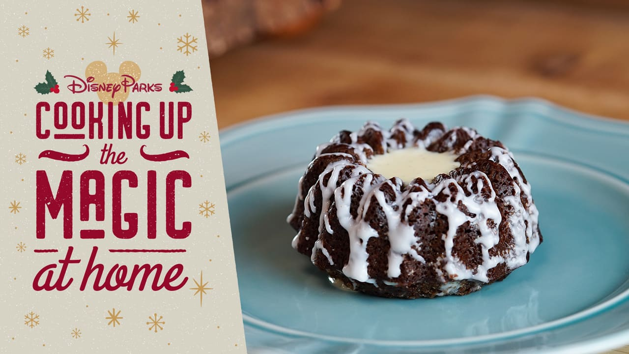#DisneyMagicMoments: Cooking Up the Magic — Christmas In July Recipe for Mini Gingerbread Bundt Cakes with Orange-Vanilla Sauce