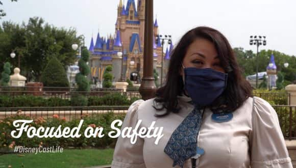 Cast Member at Magic Kingdom Park - Focused on Safety #DisneyCastLife