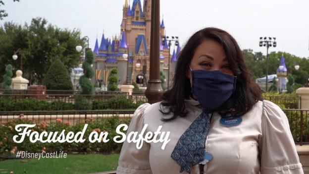 Cast Member at Magic Kingdom Park - Focused on Safety #DisneyCastLife