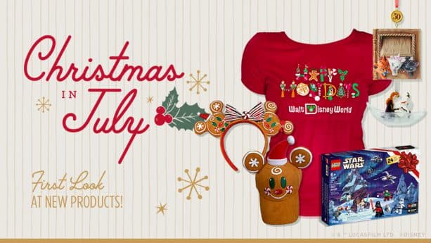 christmas in july first look at merry new holiday themed products disney parks blog christmas in july first look at merry
