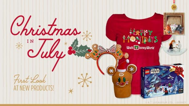 Christmas In July: First Look at Merry New Holiday Themed Products