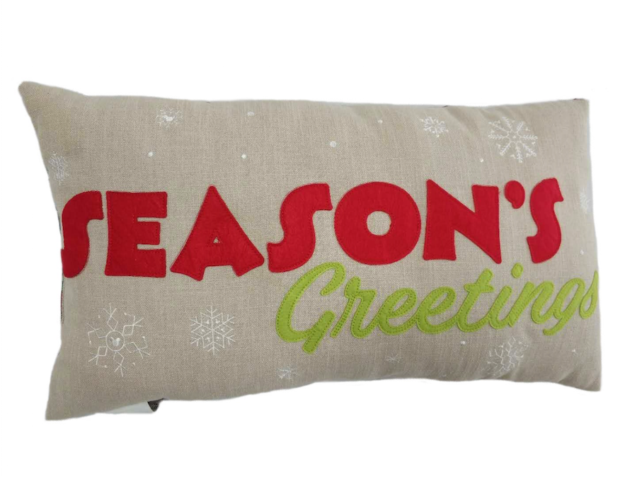 Vintage Christmas Collection pillow