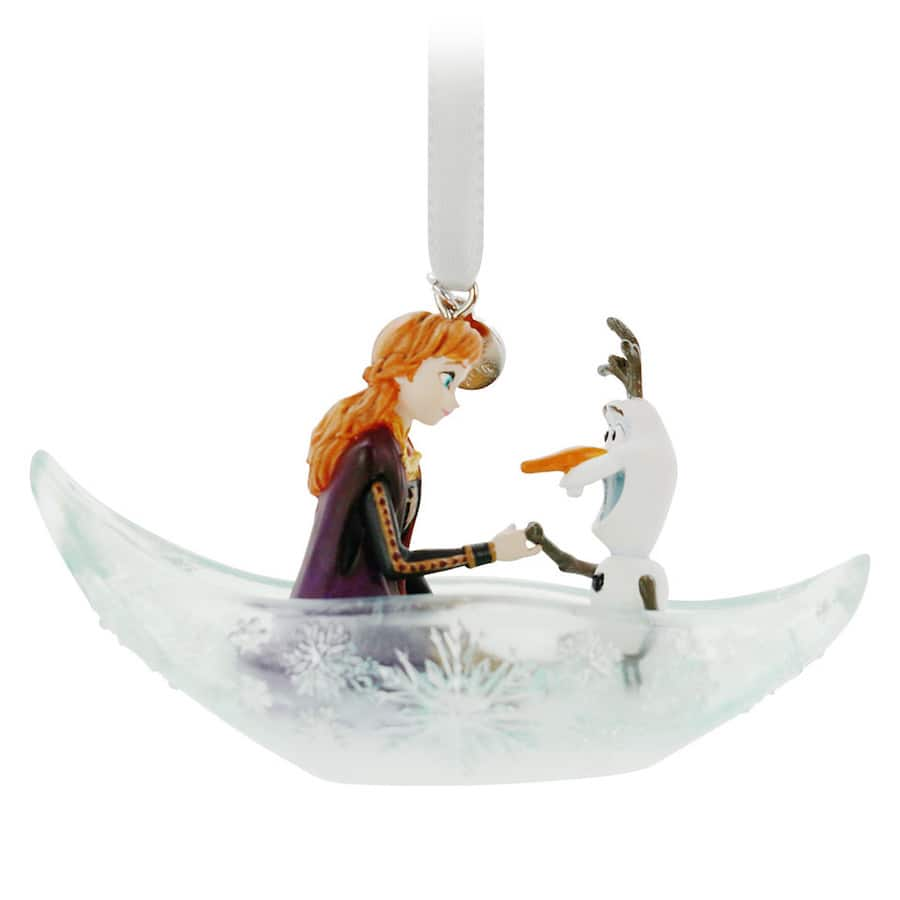Disney Sketchbook Ornament Fairytale Moment featuring Anna and Olaf