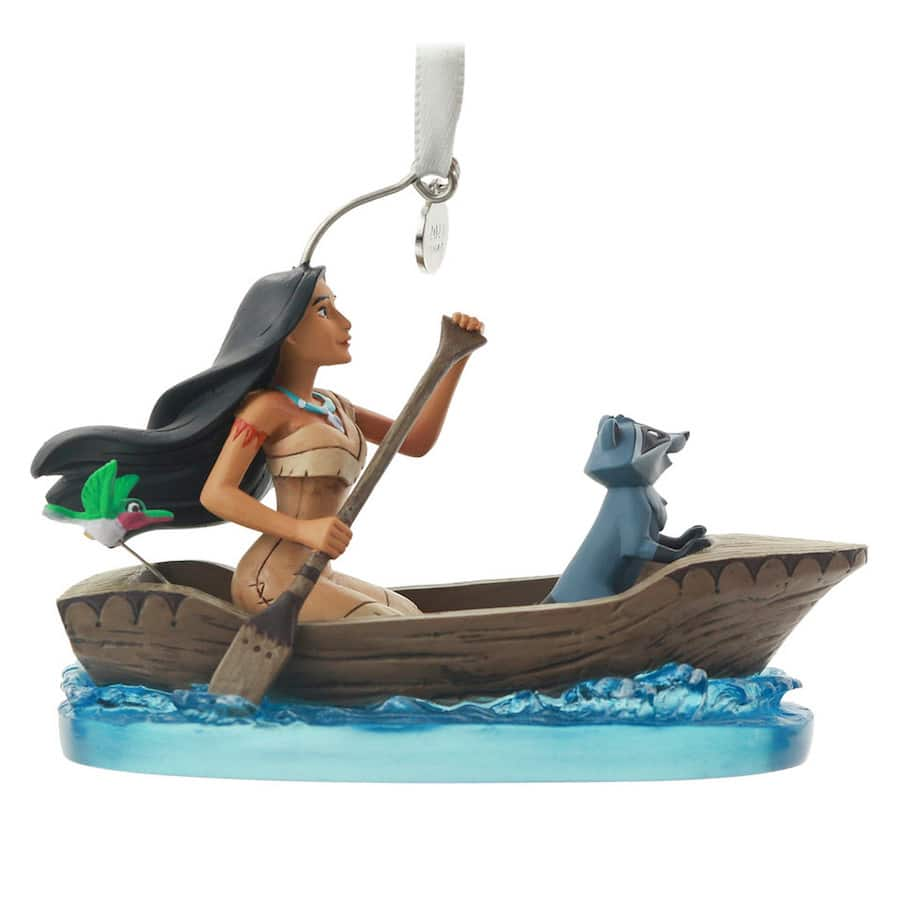 Disney Sketchbook Ornament Fairytale Moment featuring Pocahontas
