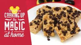 Cooking up the magic at home - Easy No-Bake Granola Treats from Disney's Contemporary Resort Bakery