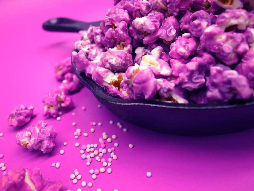 Rapunzel's Purple Popcorn